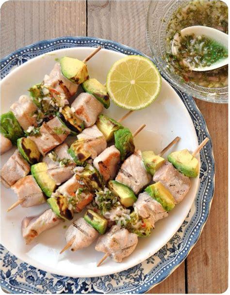 brochettes de fruits de mer sur b b q recette les 169 meilleures images du tableau brochettes de poisson