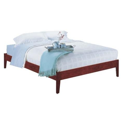 Simple Platform Bed Simple Platform Bed Decor