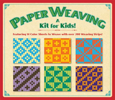 paper weaving a kit for kids