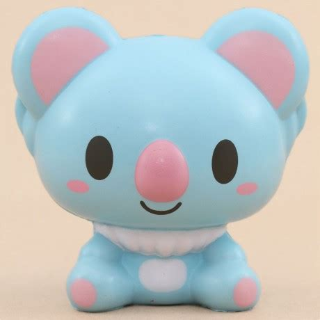 Koala Ibloom By Supa Squishy Shop blue koala animal squishy by ibloom squishy shop