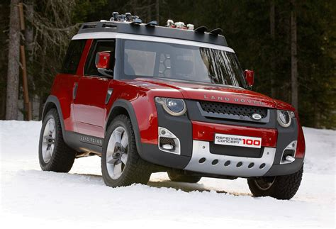 land rover dc100 new land rover defender edges nearer to 2016 debut as