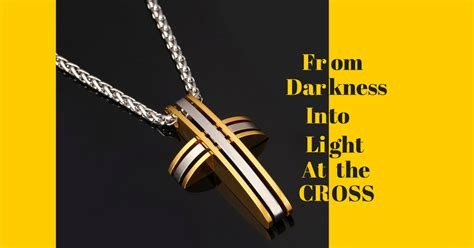 from darkness into light from darkness into light at the cross pendant