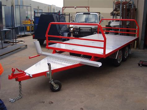 flat top trailer murrayfab engineering albury wodonga