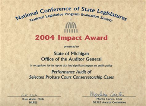 State Of Michigan Court Records Awards And Recognition Michigan Office Of The Auditor