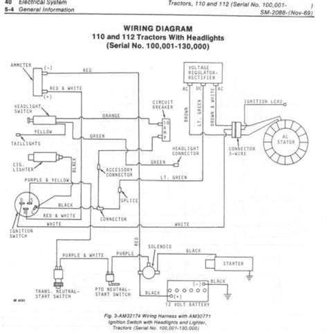 farmall b wiring diagram farmall a electrical system the tractor site inside wiring