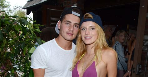 gregg sulkin y millie bobby bella thorne joins the water wars at jj s summer bash with