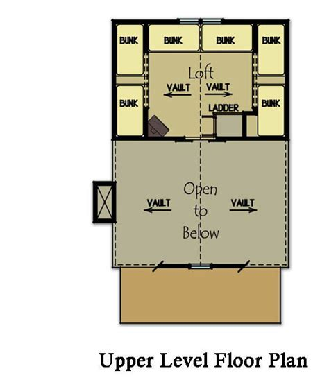 small cabin plan with loft small cabin house plans