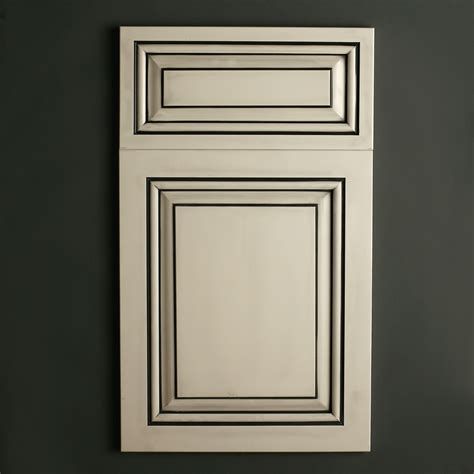 Satin White With Black Glaze Cabinets Pinterest