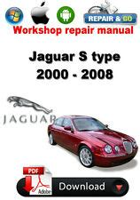 service manual how adjust rpm 2008 jaguar s type service manual how to change transmission 2008 jaguar s type ebay
