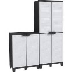 armoire haute 3 tablettes armoire basse 1 tablette