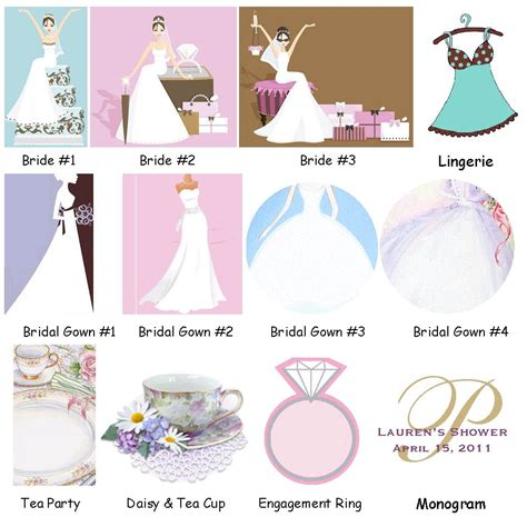 lmk gifts bridal shower design choices