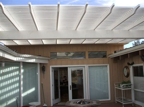 Metal Deck Awning by Rader Awning Metal Awnings And Patio Covers