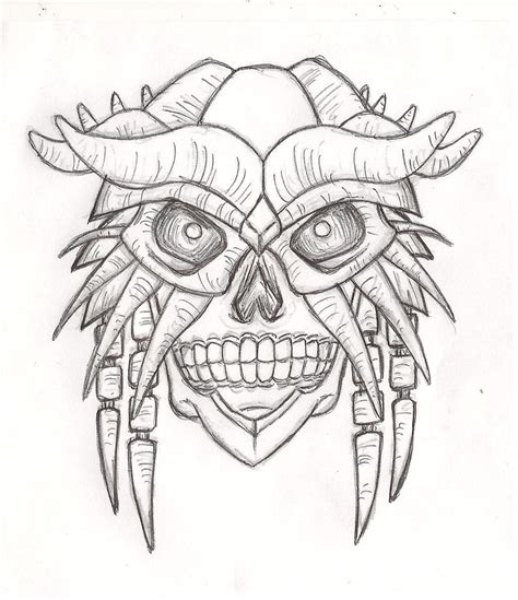 Masker Line line mask drawing