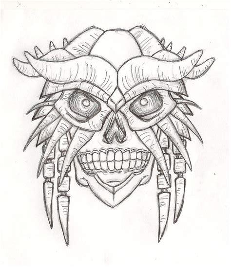mask layout design jobs new yoshimitsu mask design by kihunter on deviantart
