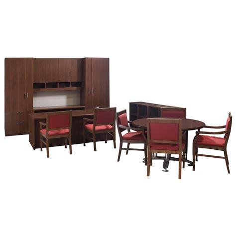 Steelcase Used Veneer Executive Office Set Walnut Steelcase Office Desk