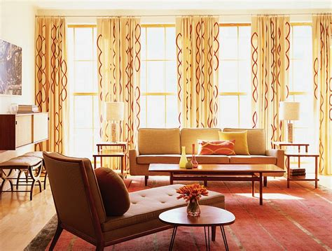 interior design drapes mid century modern style design guide ideas photos