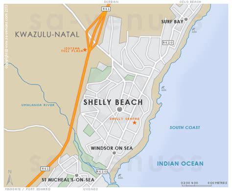 SHELLY BEACH Map
