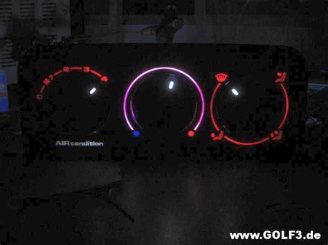 golf 4 beleuchtung heizung heizungs bedienung als prototyp beleuchtung gesucht