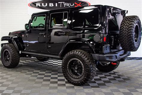 2017 jeep wrangler rubicon hard rock unlimited black