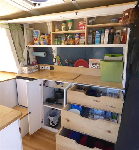 cer trailer kitchen ideas diy cer van awesome cers and cabinets