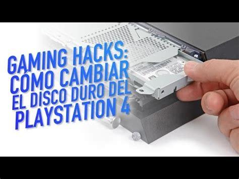 tutorial cambiar nat ps4 gaming hacks tutorial c 243 mo cambiar el disco duro del ps4