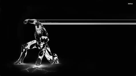 wallpaper black iron man iron man wallpaper black and white best wallpaper download
