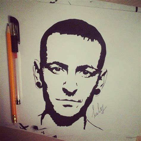 chester bennington by asphodelgray on deviantart