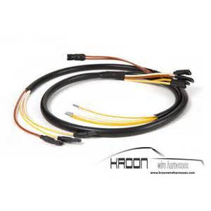 foglight wire harness for porsche 911 912 66 68 version