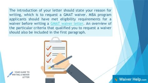 State Mba Gmat Waiver by Your Guide To Writing A Waiver Letter