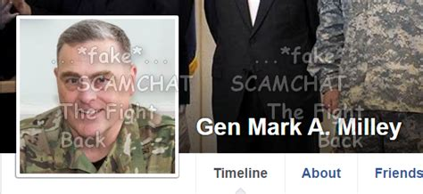 is general mark milley married scamhaters united gen mark a milley this fake