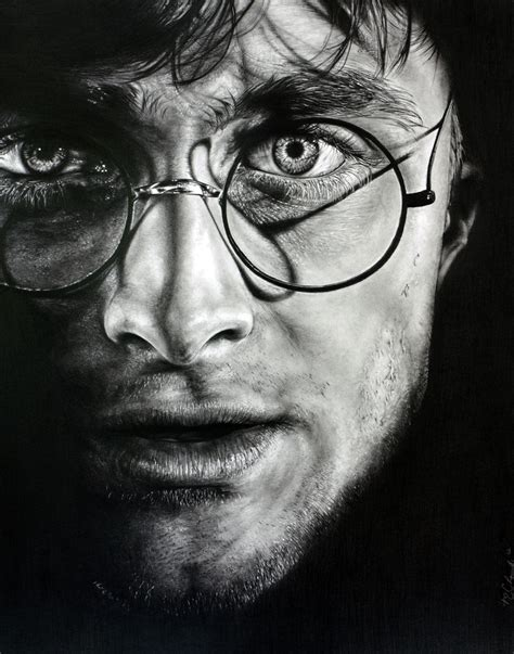Traditional Pencil harry potter by casparofambrose on deviantart actor