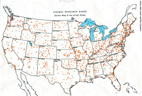 interactive travel map of the us back road adventurer on america s blue highways cnn
