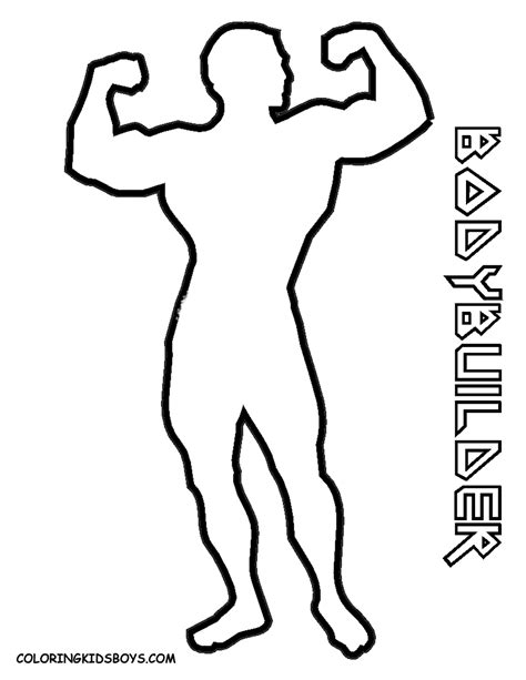 S 233 Lection De Dessins De Coloriage Musculation 224 Imprimer