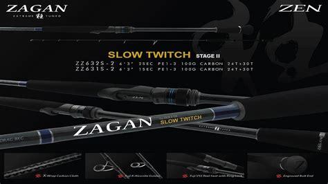 Zen Zagan Twitch 632 anglers australia zen zagan twitch
