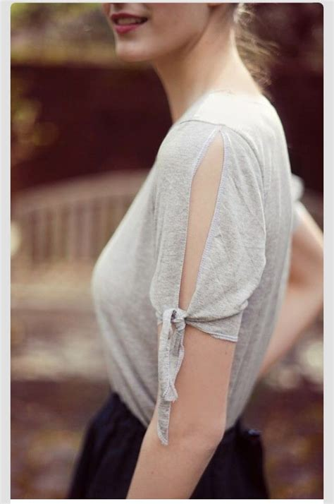 diy cut t shirt sleeves diy