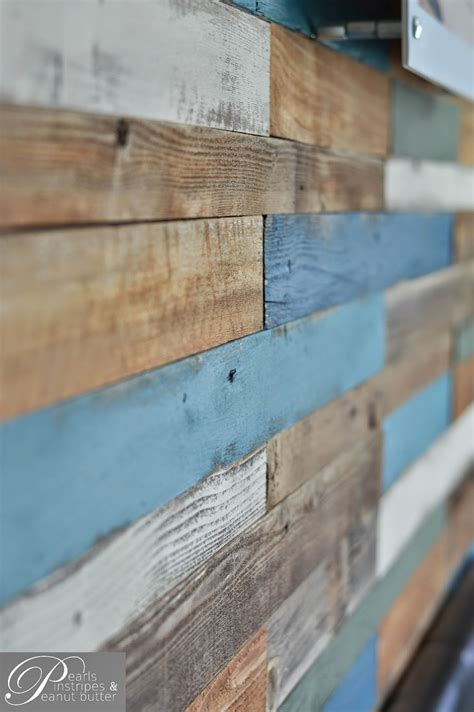 painted wall headboard remodelaholic colorful and rustic plank headboard wall