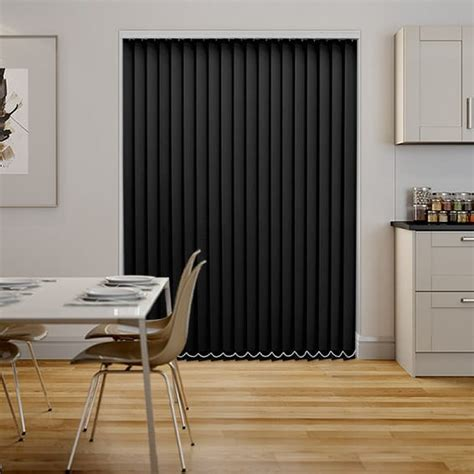 Black Vertical Blinds black pvc blackout vertical blind