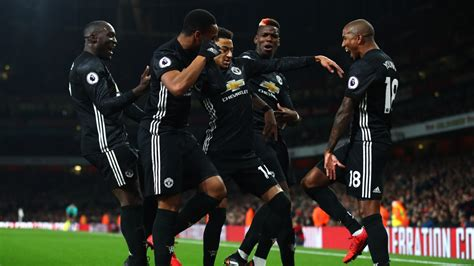 arsenal united report arsenal 1 manchester united 3 official