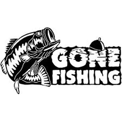 fishing decals for boat fish decals clipart best