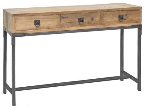 Console Tables With Drawers by Baylor 3 Drawer Console Table Modern Side Tables And