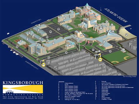 kingsborough community college map kingsborough college cus map flickr photo