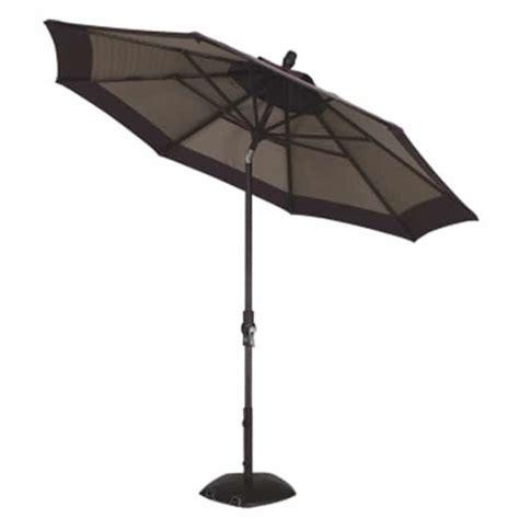 collar tilt aluminum umbrella