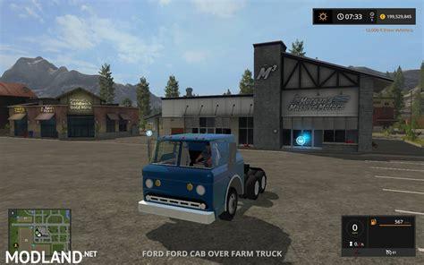 ford   cab  farm truck mod farming simulator