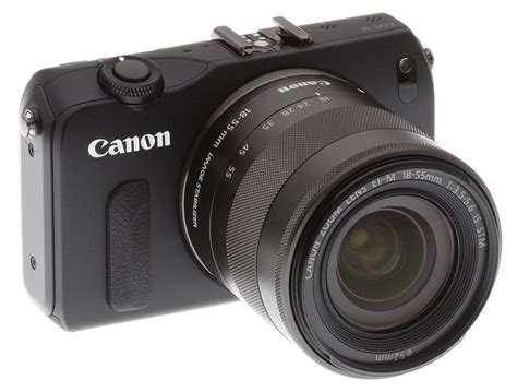 Canon Eos N canon eos m review front quarter view with lens