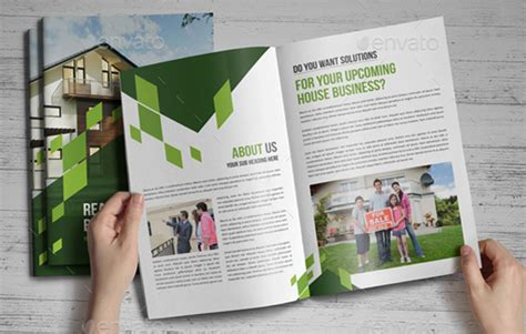House Brochure Template by 10 Profession Real Estate Brochure Templates