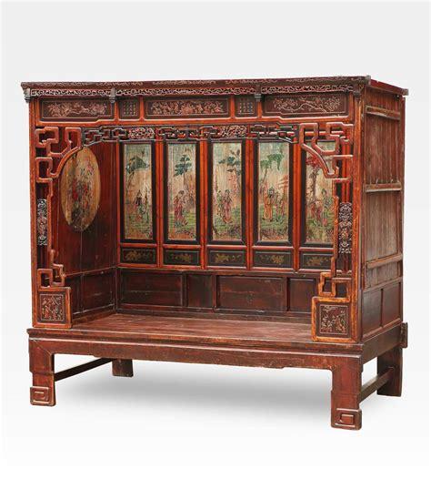 letti cinesi cod 0013 0169 antico letto cinese in legno di olmo un