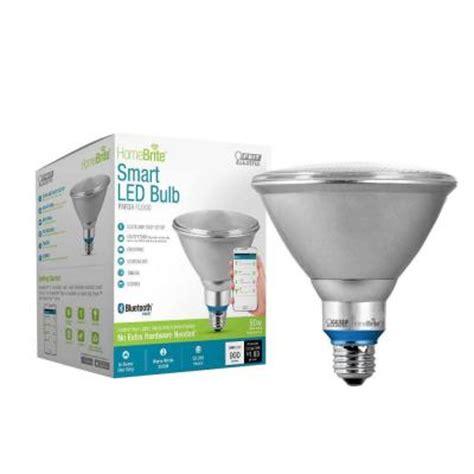 smart lights home depot homebrite bluetooth smart led light bulbs the home depot