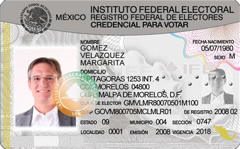 mexican ife card new psd template photoshop file