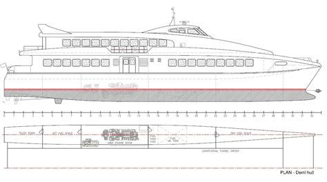 coastal catamaran ferry new build 40m offshore ferry high speed aluminium