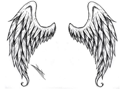 wing tattoo designs for back black and white wings designs pin wing